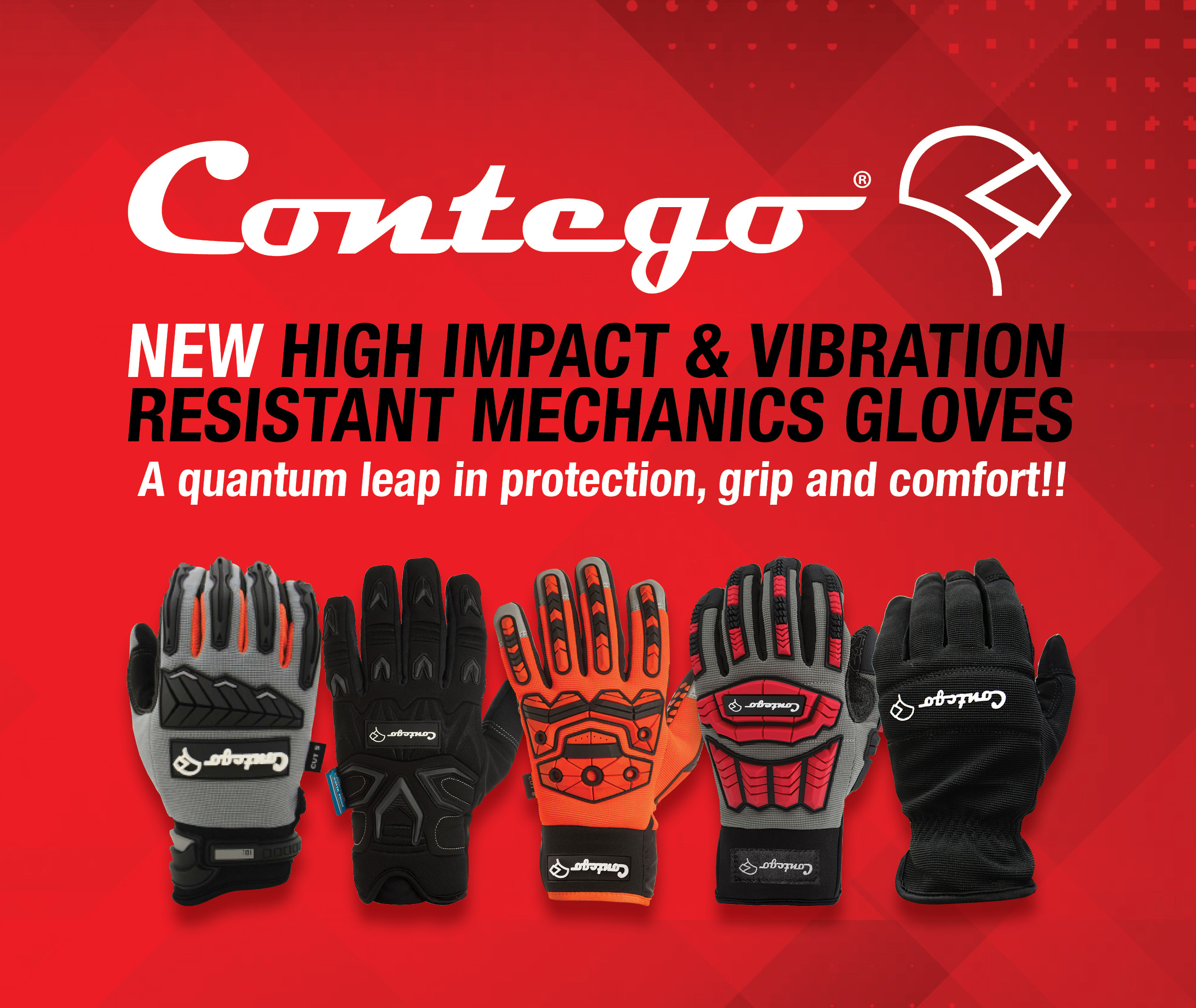 New Contego Mechanics Gloves
