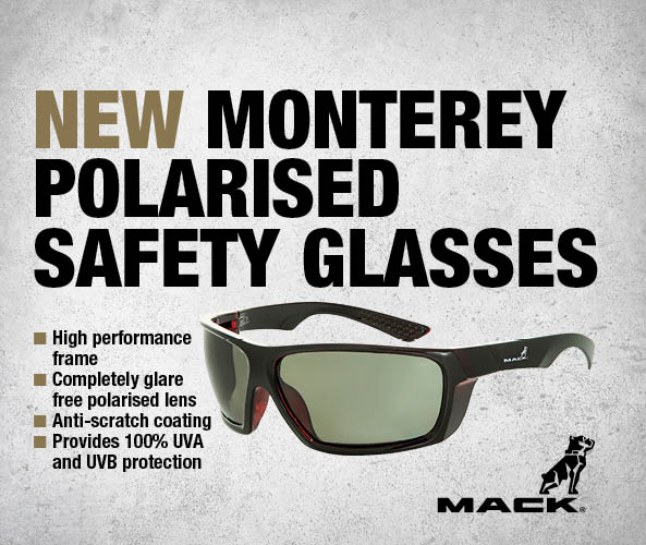 February Product of the Month: Mack Monterey Safety Glasses