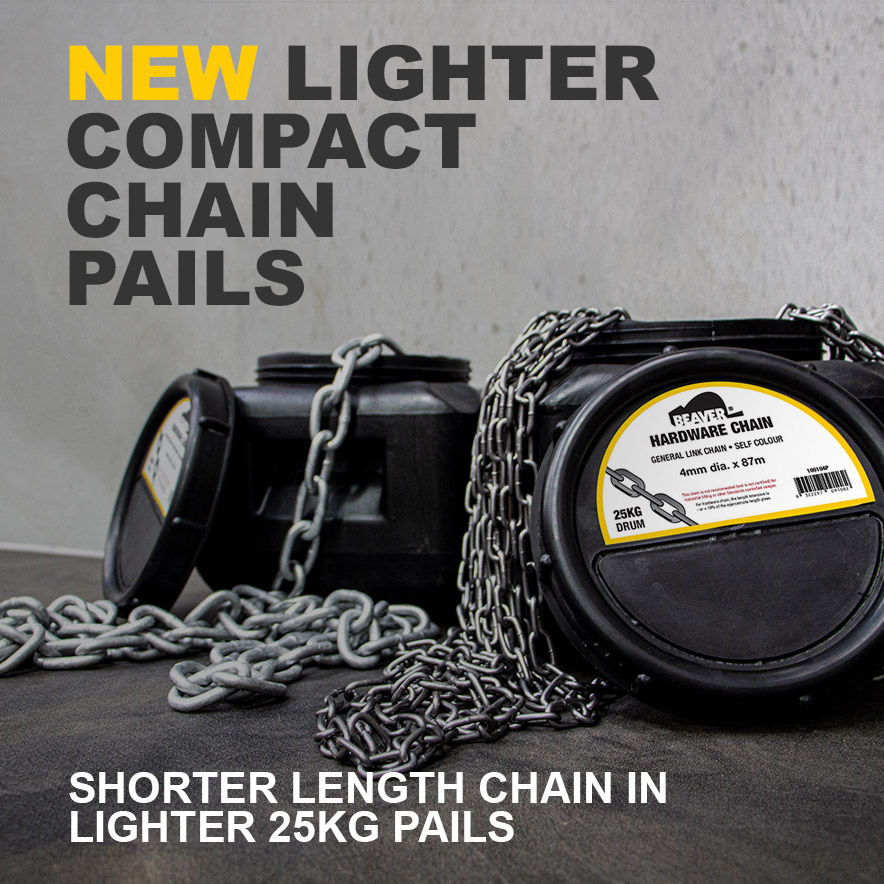 Product of the Month: New Beaver 25kg Chain Pails