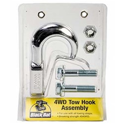 4WD Towing Hook Assembly Chrome
