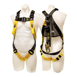 Harness with Front & Rear Attachment Points - 2MTR Integrated Lanyard