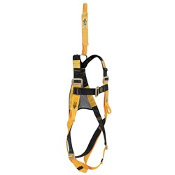 Confined Space Harness with Rear and Front Attachment Points