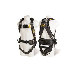 Evolve Harness Cw Rear Front & Side D Rings,Confned Spc Loops Qbs,Padding & Spill Resist Web