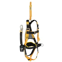 Full Body Harness Bh02020 C/W Rear Ext  2.5M Pole Strap  Pad Waist & Butt Strap Side D