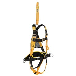 Utility Harness with Rear Attachment and Padded Buttock Strap