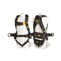 Evolve Harness Lrg Rear,Front& SideD rings,conf spc loops,pad di-elect,spill resist web &ext