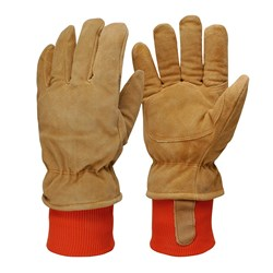 Alaskan Leather/Suede Freezer Work Gloves (Pack of 3)
