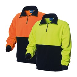 Zip Neck Polar Fleece