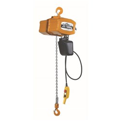 Liftall Electric Hoists Model Type: BEL-1 (Three Phase Models) AS 1418.2