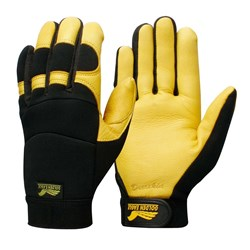Glove Contego Golden Eagle Yellow/Black. c/w Grip Tab
