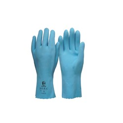 Glove Frontier Blue Double Latex