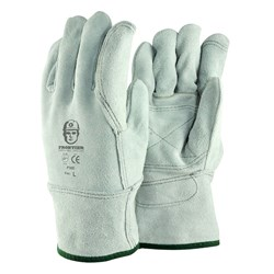 Chrome Leather Work Gloves (Pack of 12)