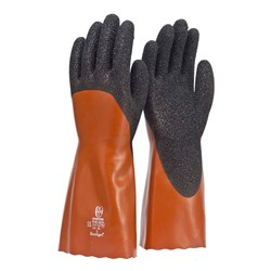 Coral Chemical and Oil Resistant 35cm Work Gloves (Pack of 12)
