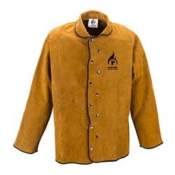 Flame Zone Fire Retardant Leather Welding Jacket