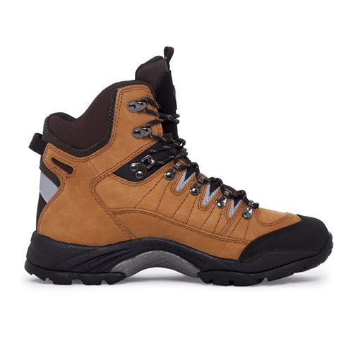 peak mack hiking casual leather non safety boots