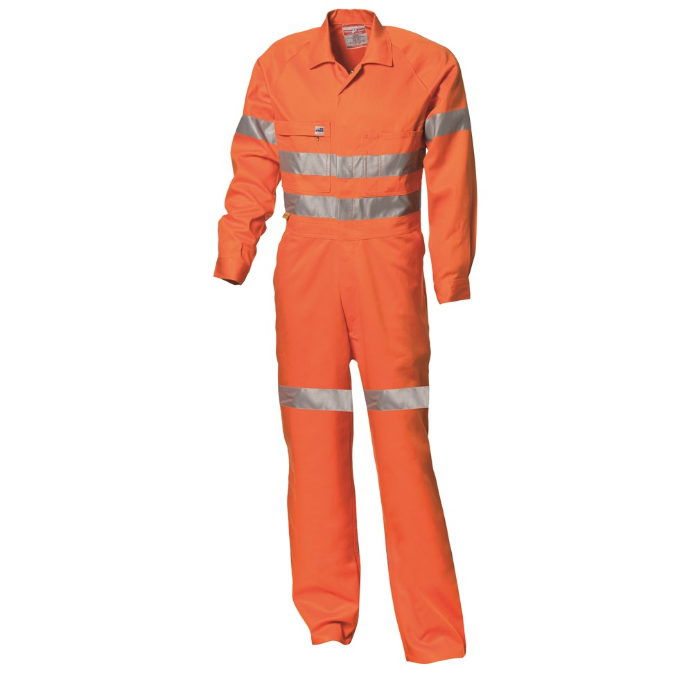 lowest discount amazing price good out x WS Workwear Hi-Vis Drill Overall with Reflective Tape